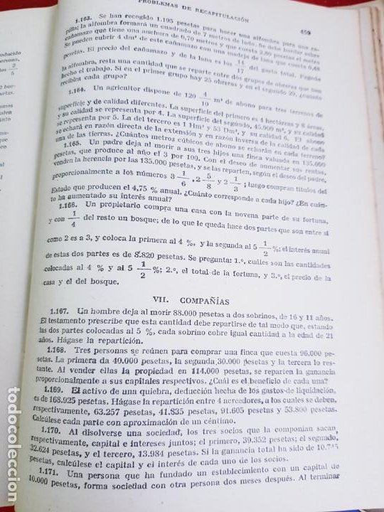 Libros antiguos: LIBRO-CALCULO COMERCIAL-EDICION BRUÑO-1943-MADRID-VER FOTOS - Foto 13 - 222408522