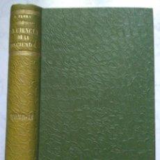 Libros antiguos: CIENCIA DE LA HACIENDA. FEDERICO FLORA. SEGUNDO TOMO 1906. Lote 223728201