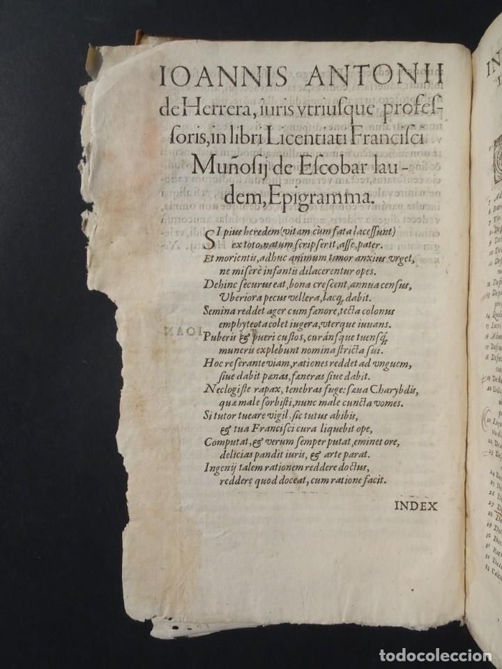 Libros antiguos: 1619 - DE RATIOCINIIS ADMINISTRATORUM - FRANCISCO MUÑOZ DE ESCOBAR - VALLADOLID - LERMA - Foto 6 - 224066647