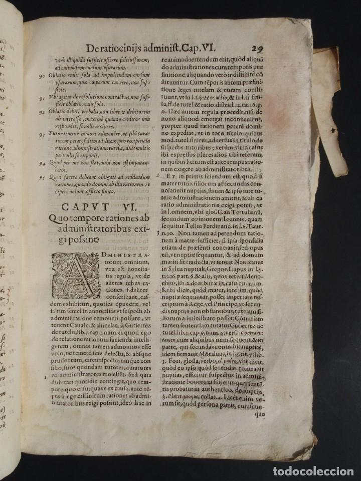 Libros antiguos: 1619 - DE RATIOCINIIS ADMINISTRATORUM - FRANCISCO MUÑOZ DE ESCOBAR - VALLADOLID - LERMA - Foto 11 - 224066647
