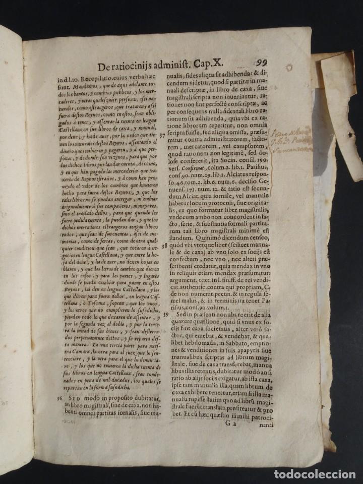 Libros antiguos: 1619 - DE RATIOCINIIS ADMINISTRATORUM - FRANCISCO MUÑOZ DE ESCOBAR - VALLADOLID - LERMA - Foto 13 - 224066647