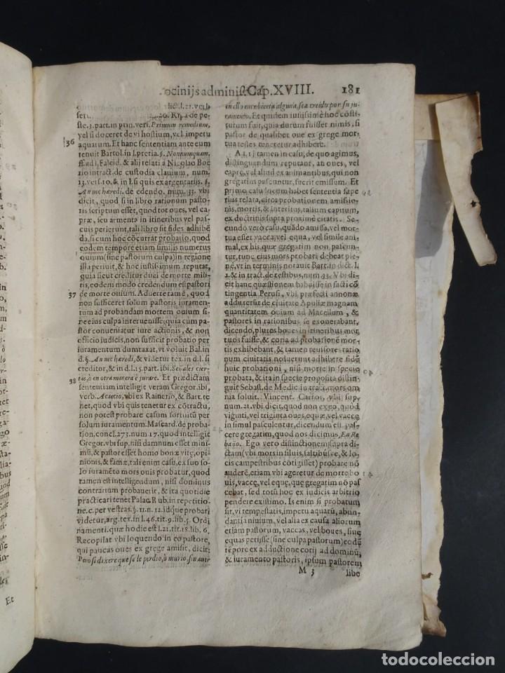 Libros antiguos: 1619 - DE RATIOCINIIS ADMINISTRATORUM - FRANCISCO MUÑOZ DE ESCOBAR - VALLADOLID - LERMA - Foto 14 - 224066647