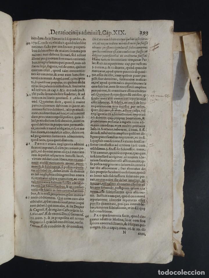 Libros antiguos: 1619 - DE RATIOCINIIS ADMINISTRATORUM - FRANCISCO MUÑOZ DE ESCOBAR - VALLADOLID - LERMA - Foto 15 - 224066647