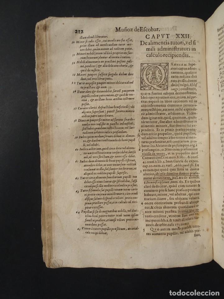 Libros antiguos: 1619 - DE RATIOCINIIS ADMINISTRATORUM - FRANCISCO MUÑOZ DE ESCOBAR - VALLADOLID - LERMA - Foto 16 - 224066647
