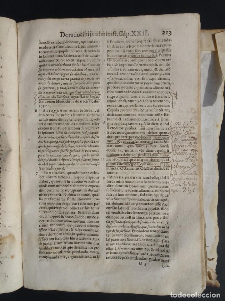 Libros antiguos: 1619 - DE RATIOCINIIS ADMINISTRATORUM - FRANCISCO MUÑOZ DE ESCOBAR - VALLADOLID - LERMA - Foto 17 - 224066647