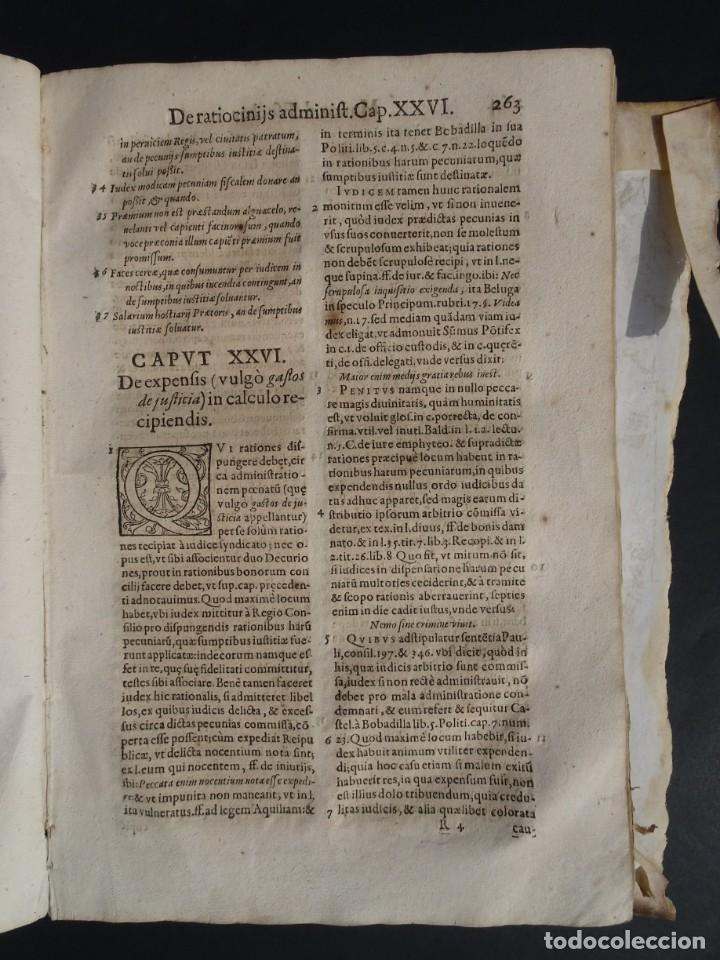 Libros antiguos: 1619 - DE RATIOCINIIS ADMINISTRATORUM - FRANCISCO MUÑOZ DE ESCOBAR - VALLADOLID - LERMA - Foto 18 - 224066647