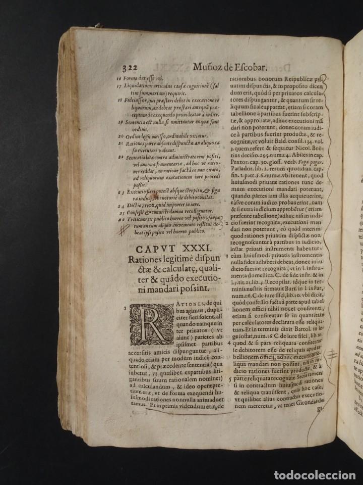Libros antiguos: 1619 - DE RATIOCINIIS ADMINISTRATORUM - FRANCISCO MUÑOZ DE ESCOBAR - VALLADOLID - LERMA - Foto 19 - 224066647