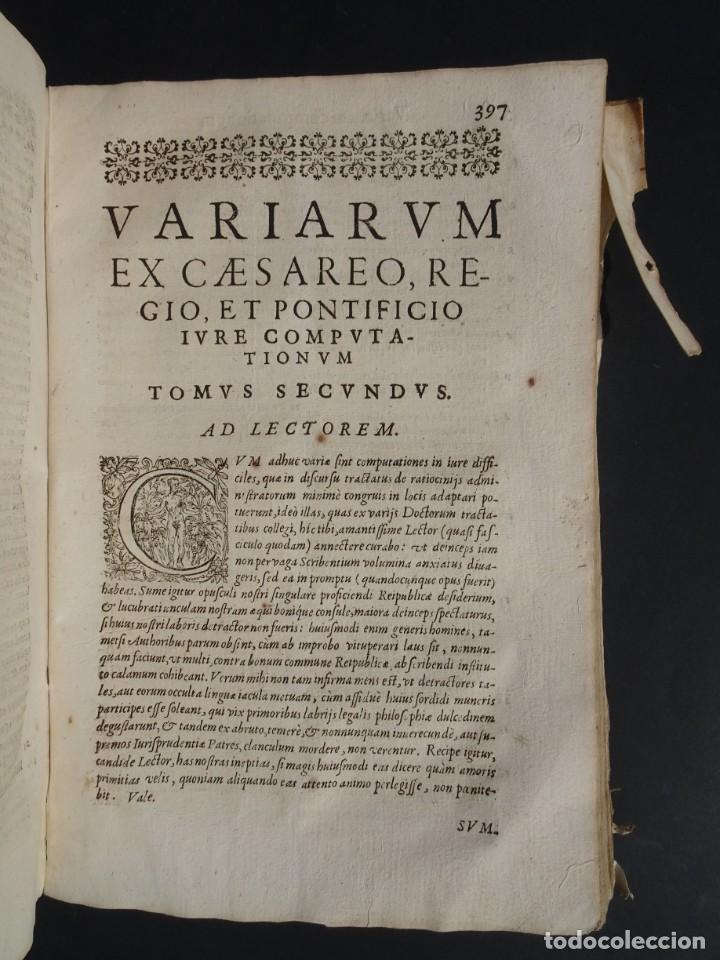 Libros antiguos: 1619 - DE RATIOCINIIS ADMINISTRATORUM - FRANCISCO MUÑOZ DE ESCOBAR - VALLADOLID - LERMA - Foto 20 - 224066647