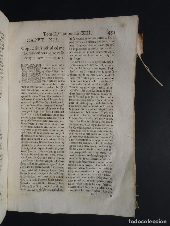 Libros antiguos: 1619 - DE RATIOCINIIS ADMINISTRATORUM - FRANCISCO MUÑOZ DE ESCOBAR - VALLADOLID - LERMA - Foto 24 - 224066647