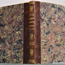 Libros antiguos: ELEMENTOS DEL DERECHO NATURAL Y DE GENTES - J. GOTTLIER HEINECCIO - MADRID 1837. Lote 224115300