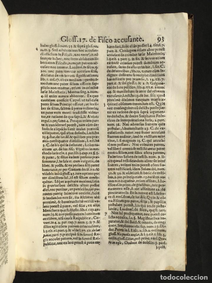 Libros antiguos: 1639 Derecho Indiano - fiscal - América - Alfaro, Francisco de - Tractatus de officio fiscalis - Foto 20 - 224631223