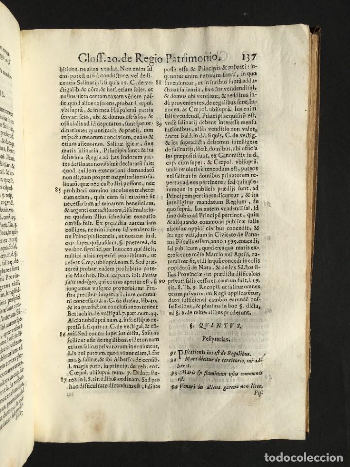 Libros antiguos: 1639 Derecho Indiano - fiscal - América - Alfaro, Francisco de - Tractatus de officio fiscalis - Foto 24 - 224631223