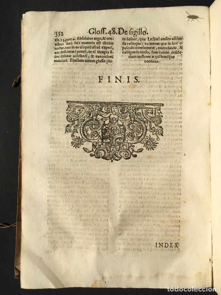Libros antiguos: 1639 Derecho Indiano - fiscal - América - Alfaro, Francisco de - Tractatus de officio fiscalis - Foto 34 - 224631223