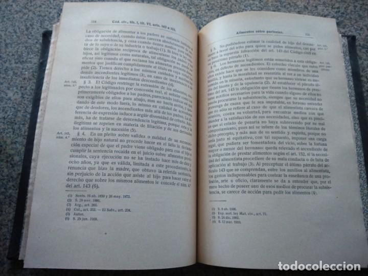 Libros antiguos: DIGESTO - PRINCIPIOS DOCTRINA Y JURISPRUDENCIA - RICARDO OYUELOS -- MADRID 1917 / 1932 -- - Foto 4 - 224662788