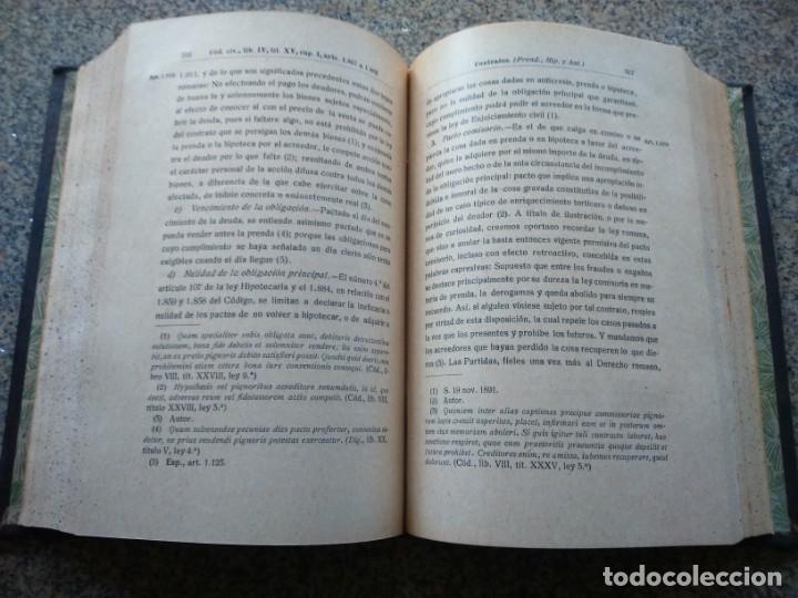 Libros antiguos: DIGESTO - PRINCIPIOS DOCTRINA Y JURISPRUDENCIA - RICARDO OYUELOS -- MADRID 1917 / 1932 -- - Foto 6 - 224662788