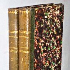 Libros antiguos: CONSTITUTION DE L´ANGLETERRE OU ÉTAT DU GOUVERNEMENT ANGLAIS... 2 TOMOS. Lote 224777618