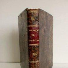 Livros antigos: COLECCIÓN DE CONSTITUCIONES (1836). Lote 225633850