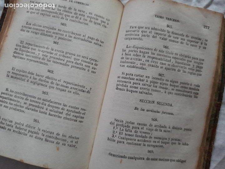 Libros antiguos: CÓDIGO DE COMERCIO, edición oficial 1889 - Foto 6 - 226119015