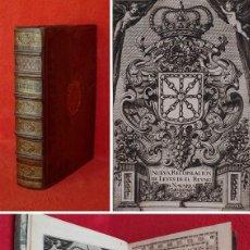 Libros antiguos: AÑO 1735 - 35CM - LEYES DEL REINO DE NAVARRA - PRECIOSO Y ENORME VOLUMEN DE 4 KG DE PESO - DERECHO. Lote 226378961