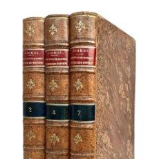 Libros antiguos: 1909 - MANILA, FILIPINAS - DERECHO ROMANO - 3 TOMOS ENCUADERNADOS EN MANILA - PLENA PIEL - RARO. Lote 226788025