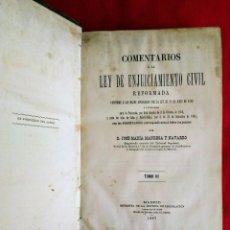 Libros antiguos: LIBRO ANTIGUO 1887. Lote 229586650