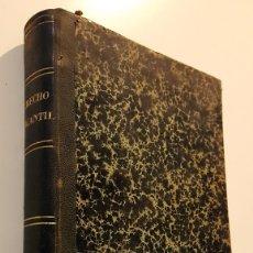 """Libros antiguos: LIBRO """"DERECHO MERCANTIL"""". LA HABANA, 1894. ÚNICO - NUMERADO.. Lote 230007895"""
