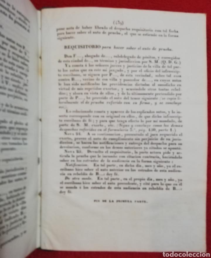 Libros antiguos: EL FORO ESPAÑOL - 1834 - F de P Miguel Sánchez - IMP. TOMÁS JORDAN, MADRID - PJRB - Foto 7 - 230478875