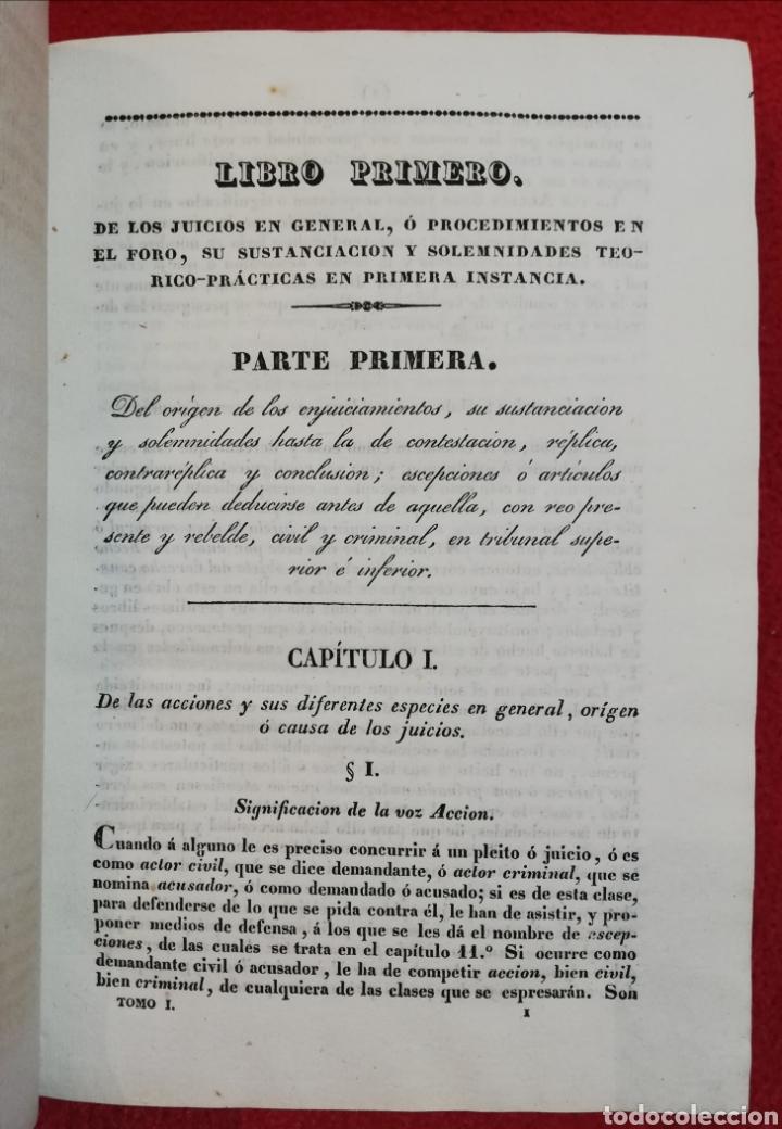 Libros antiguos: EL FORO ESPAÑOL - 1834 - F de P Miguel Sánchez - IMP. TOMÁS JORDAN, MADRID - PJRB - Foto 6 - 230478875