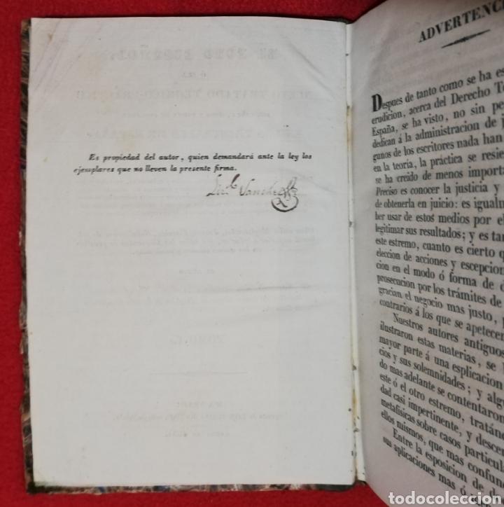 Libros antiguos: EL FORO ESPAÑOL - 1834 - F de P Miguel Sánchez - IMP. TOMÁS JORDAN, MADRID - PJRB - Foto 5 - 230478875