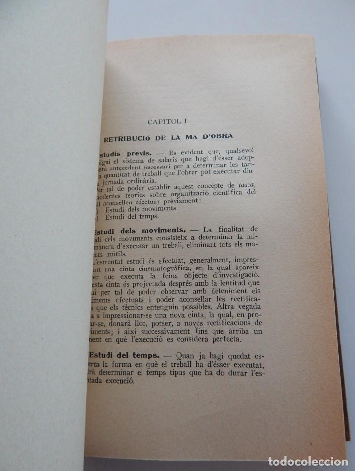 Libros antiguos: Preu de cost industrial - Ferran Boter Maurí / 1934 1ª edició - Dedicatoria manuscrita del autor - Foto 8 - 231171905