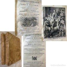 Libros antiguos: VINNIUS CASTIGATUS. TOMO PRIMERO Y TOMO SEGUNDO. 1779 JOANNIS SALA. Lote 232310085