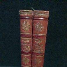 Libros antiguos: EL CONSULTOR DEL TENEDOR DE LIBROS - 2 TOMOS - EMILIO OLIVER ED. JAIME MOLINAS - 1892. Lote 232889180