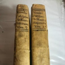 Libri antichi: VINNIUS CASTIGATUS, JOANNIS SALA - VALENTIAE 1786 - 2 TOMOS COMPLETA, VER FOTOS. Lote 233259720