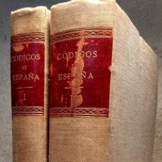 Livros antigos: CÓDIGOS ANTIGUOS DE ESPAÑA. - MARTINEZ ALCUBILLA MARCELO. Lote 233299835