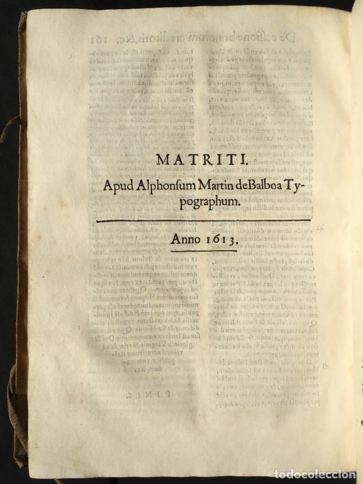 Libros antiguos: Año 1613 - Tractatus de executione sententiae - Amador Rodríguez - Salamanca - Derecho - Pergamino - - Foto 29 - 233550335