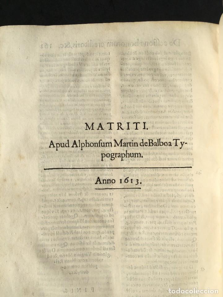 Libros antiguos: Año 1613 - Tractatus de executione sententiae - Amador Rodríguez - Salamanca - Derecho - Pergamino - - Foto 30 - 233550335