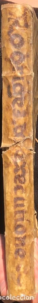 Libros antiguos: Año 1613 - Tractatus de executione sententiae - Amador Rodríguez - Salamanca - Derecho - Pergamino - - Foto 31 - 233550335
