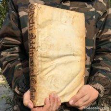 Libros antiguos: 1727 DERECHO CIVIL - SOBRE LA COMIDA - ALIMENTACION - PERGAMINO - FOLIO - ADDITIONES ET OBSERVATIONE. Lote 233559015