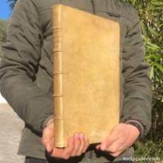 Libros antiguos: 1702 - AGUSTIN BARBOSA - PRAXIS METODICA EXIGENDI PENSIONES - DERECHO - PERGAMINO. Lote 233574270