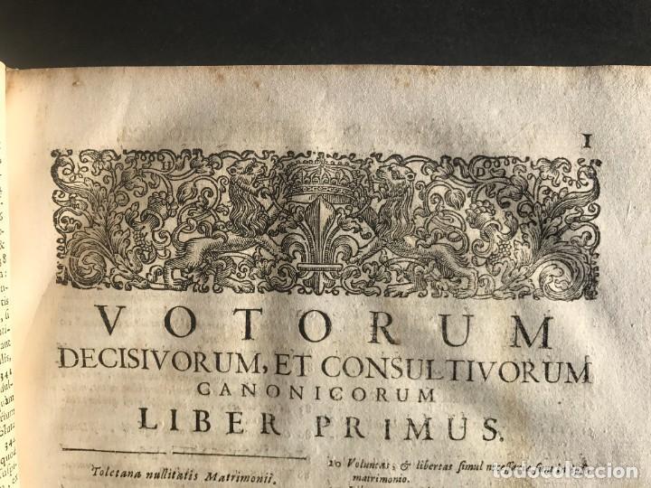Libros antiguos: 1702 - AGUSTIN BARBOSA - PRAXIS METODICA EXIGENDI PENSIONES - DERECHO - PERGAMINO - Foto 13 - 233574270