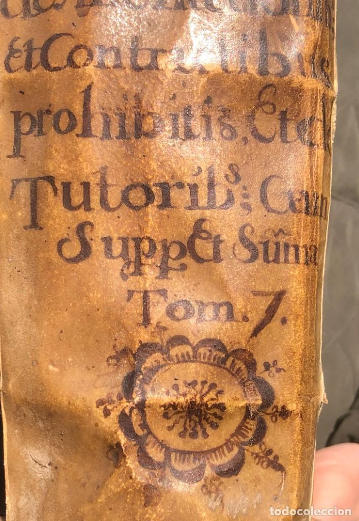 Libros antiguos: 1671 - THEATRUM VERITATIS ET IUSTITIAE - JUAN BAUTISTA DE LUCA - DERECHO - PERGAMINO - Foto 3 - 233575875