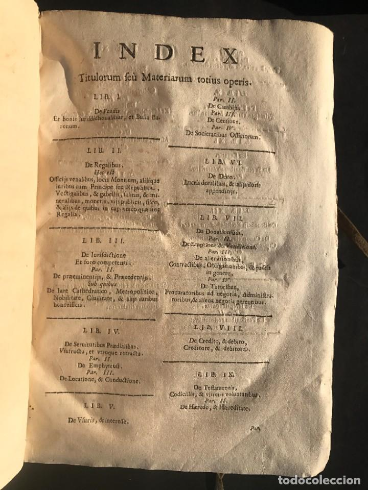 Libros antiguos: 1671 - THEATRUM VERITATIS ET IUSTITIAE - JUAN BAUTISTA DE LUCA - DERECHO - PERGAMINO - Foto 12 - 233575875