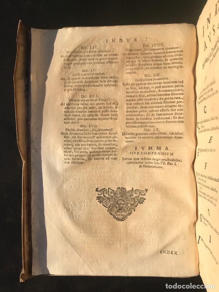 Libros antiguos: 1671 - THEATRUM VERITATIS ET IUSTITIAE - JUAN BAUTISTA DE LUCA - DERECHO - PERGAMINO - Foto 13 - 233575875
