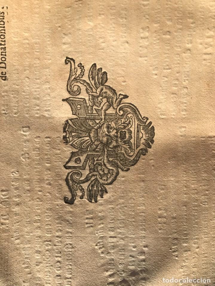 Libros antiguos: 1671 - THEATRUM VERITATIS ET IUSTITIAE - JUAN BAUTISTA DE LUCA - DERECHO - PERGAMINO - Foto 14 - 233575875
