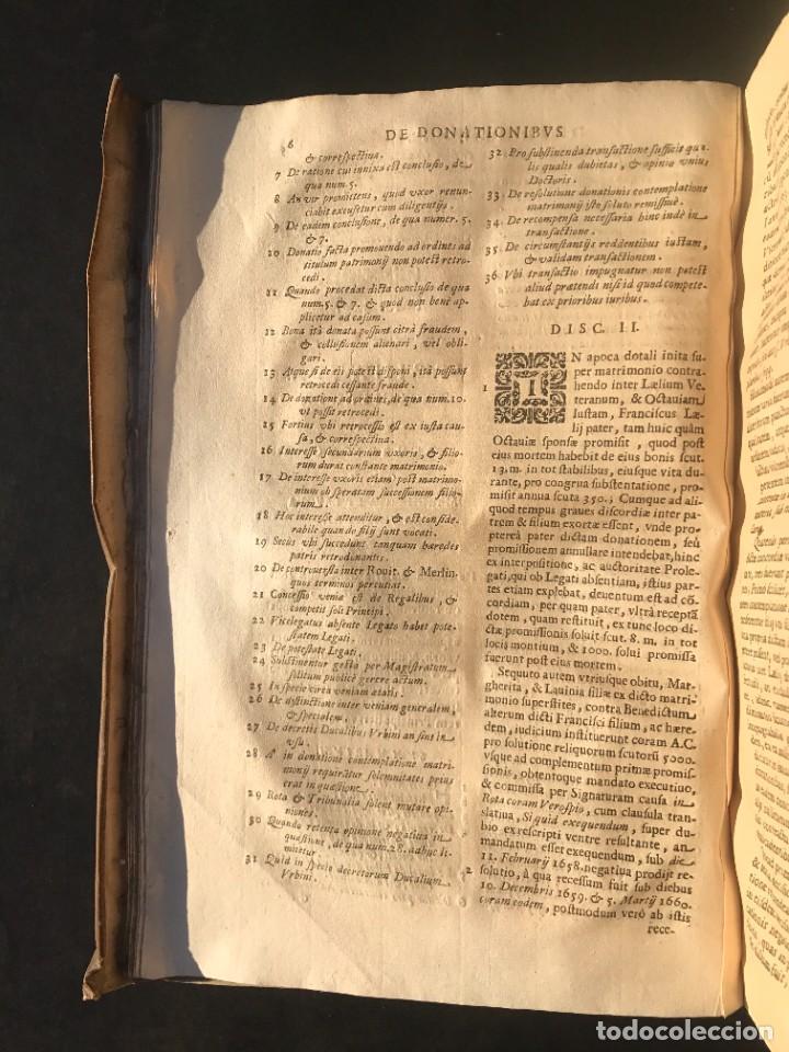 Libros antiguos: 1671 - THEATRUM VERITATIS ET IUSTITIAE - JUAN BAUTISTA DE LUCA - DERECHO - PERGAMINO - Foto 19 - 233575875