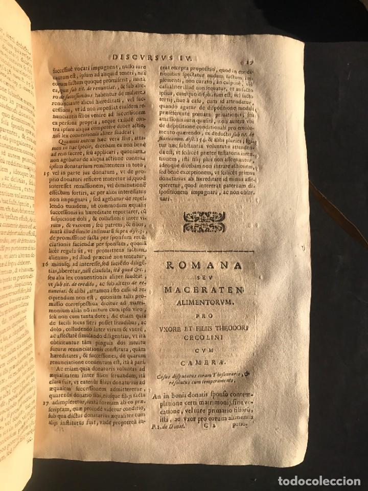 Libros antiguos: 1671 - THEATRUM VERITATIS ET IUSTITIAE - JUAN BAUTISTA DE LUCA - DERECHO - PERGAMINO - Foto 20 - 233575875