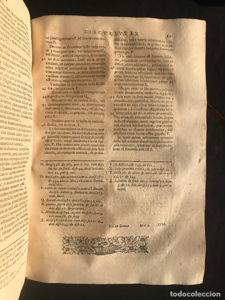 Libros antiguos: 1671 - THEATRUM VERITATIS ET IUSTITIAE - JUAN BAUTISTA DE LUCA - DERECHO - PERGAMINO - Foto 24 - 233575875