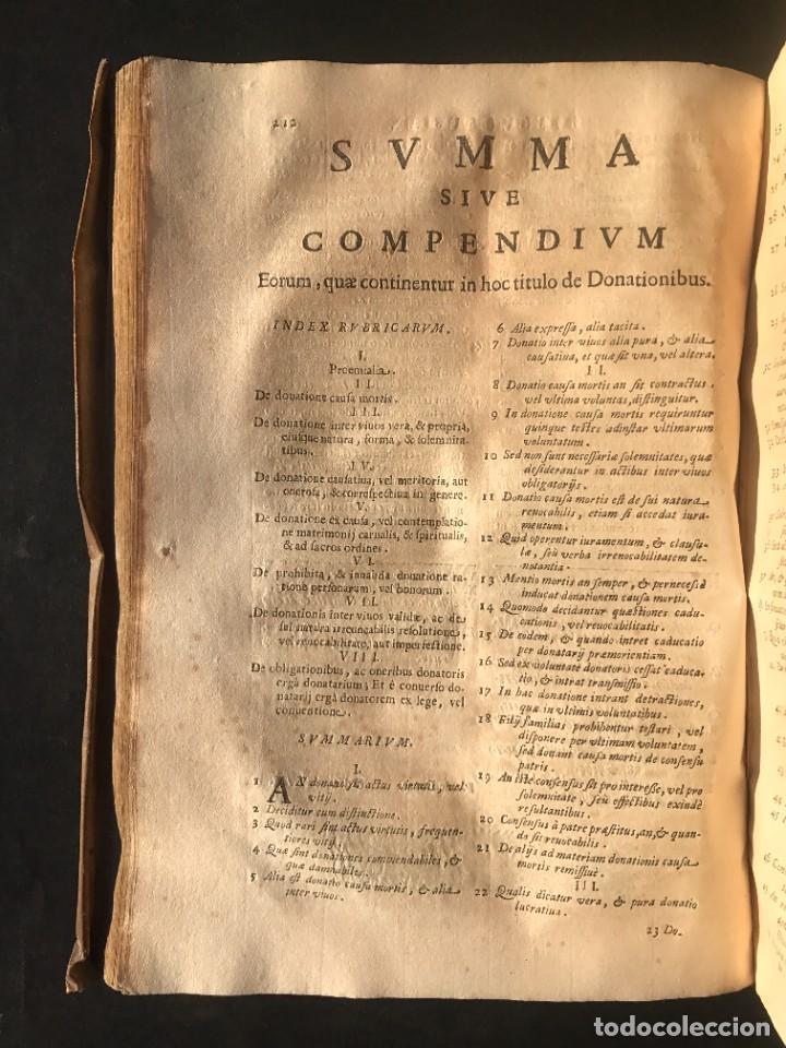 Libros antiguos: 1671 - THEATRUM VERITATIS ET IUSTITIAE - JUAN BAUTISTA DE LUCA - DERECHO - PERGAMINO - Foto 26 - 233575875