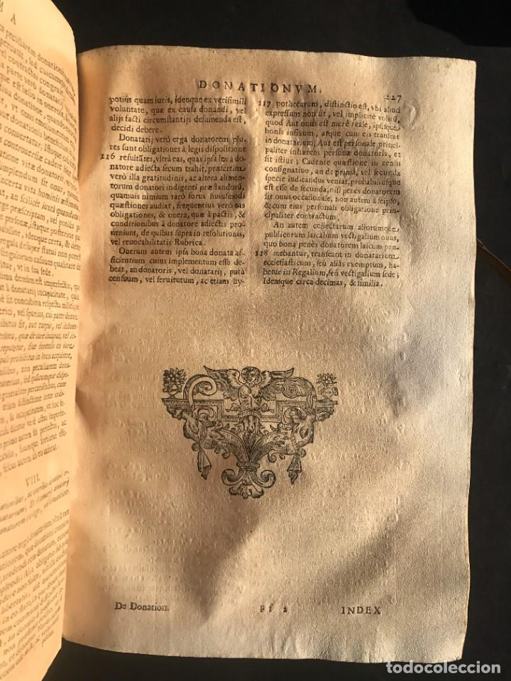 Libros antiguos: 1671 - THEATRUM VERITATIS ET IUSTITIAE - JUAN BAUTISTA DE LUCA - DERECHO - PERGAMINO - Foto 27 - 233575875