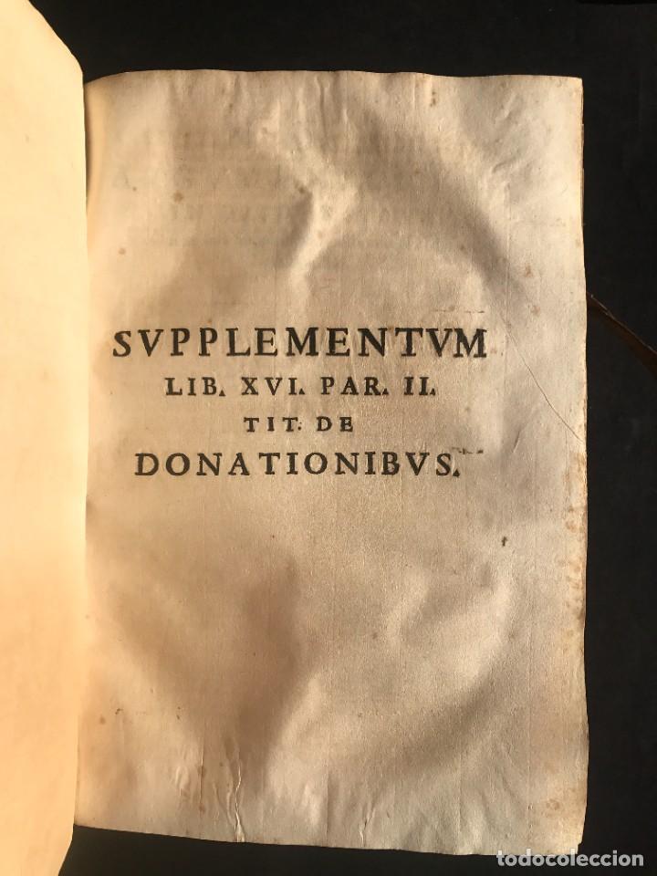 Libros antiguos: 1671 - THEATRUM VERITATIS ET IUSTITIAE - JUAN BAUTISTA DE LUCA - DERECHO - PERGAMINO - Foto 29 - 233575875